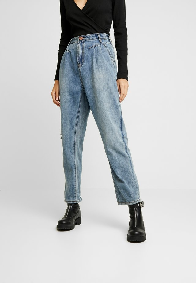 STREETWALKERS HIGH WAIST - Jeansy Relaxed Fit - venice