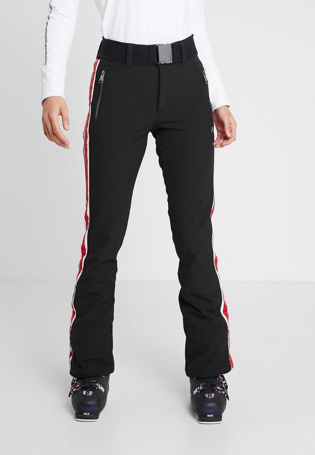 JARVALA - Spodnie narciarskie - black