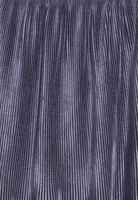 Tommy Hilfiger - VELVET PLISSE SKIRT - Áčková sukně - blue - 3