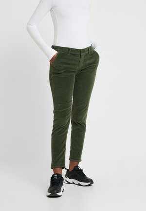 SELINA - Trousers - military