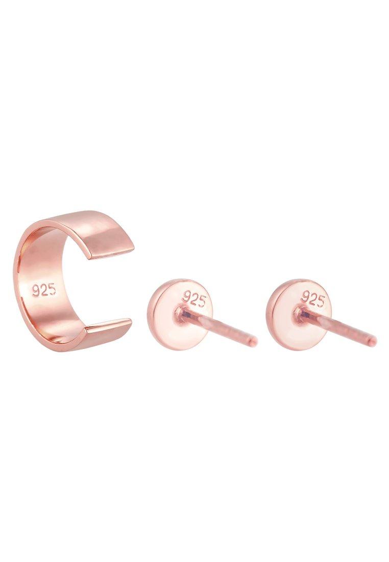 Elli Set - Ohrringe Rose Gold-coloured/roségoldfarben