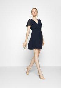 NAF NAF - SEZER  - Cocktail dress / Party dress - bleu marine - 1