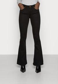 LOIS Jeans - RAVAL LEA SOFT COLOUR - Bukse - black - 0