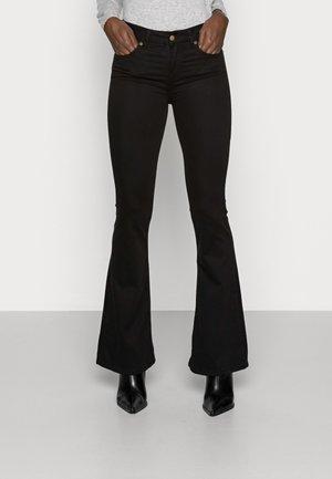RAVAL LEA SOFT COLOUR - Bukse - black