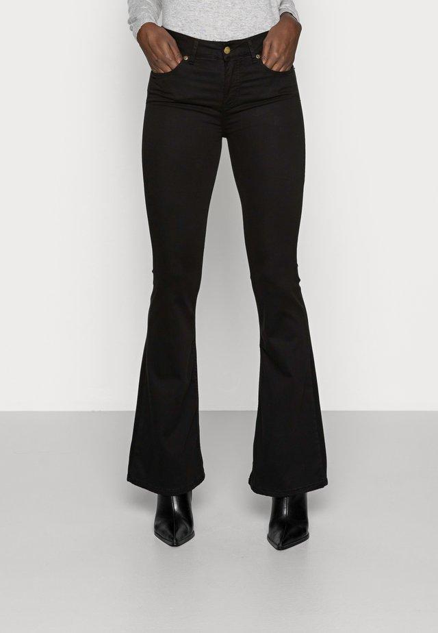 RAVAL LEA SOFT COLOUR - Kalhoty - black