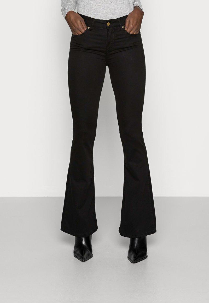 LOIS Jeans - RAVAL LEA SOFT COLOUR - Bukse - black