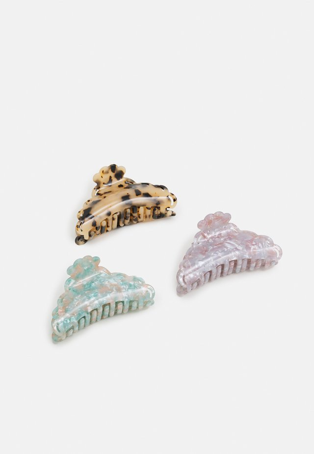ONLHANNAH HAIR CLIP 3 PACK - Hair Styling Accessory - pastel lilac/nude/pastel