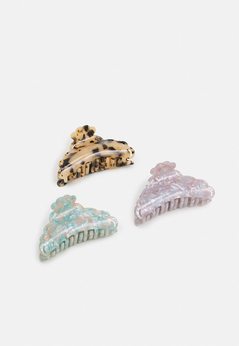 ONLY - ONLHANNAH HAIR CLIP 3 PACK - Hair styling accessory - pastel lilac/nude/pastel