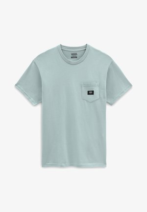 MN WOVEN PATCH POCKET M - Print T-shirt - abyss
