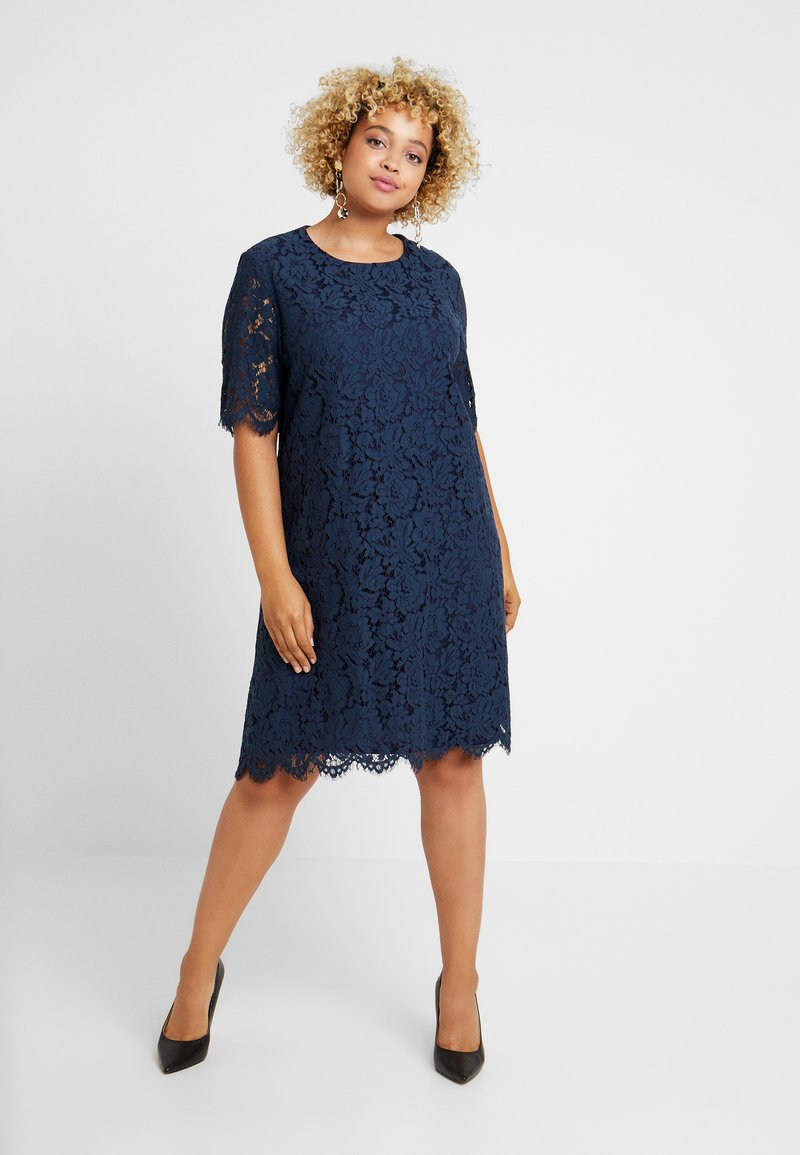 Glamorous Curve - SHIFT DRESS - Cocktail dress / Party dress - navy