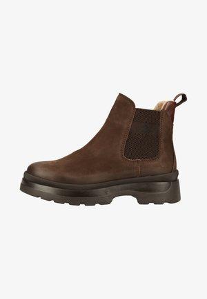 Ankle boots - dark brown g