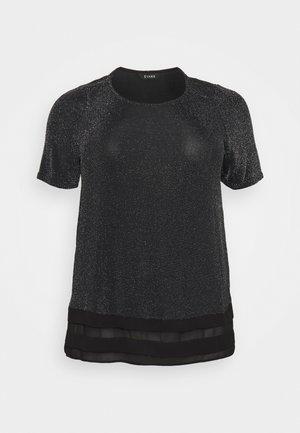 BRILLO TOP  - Jednoduché triko - silver