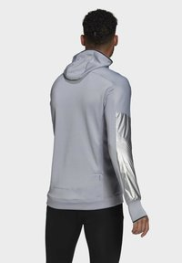 adidas Performance - SPACE PRIMEGREEN SWEATSHIRT HOODIE RUNNING - Hoodie - grey - 2