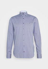 HOUNDSTOOTH CLASSIC - Camicia elegante - blue