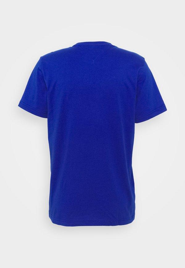 Tommy Jeans CLASSICS TEE - T-shirt basic - blue/niebieski Odzież Męska PBIN