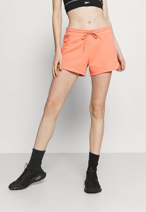 SHORT - Sports shorts - twisted coral