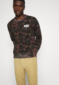 Levi's® - GRAPHIC CREW - Felpa - black - 3
