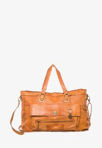 Pieces - TOTALLY ROYAL  - Weekend bag - cognac - 1