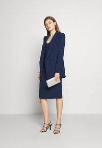 Elisabetta Franchi - Short coat - blue navy - 1