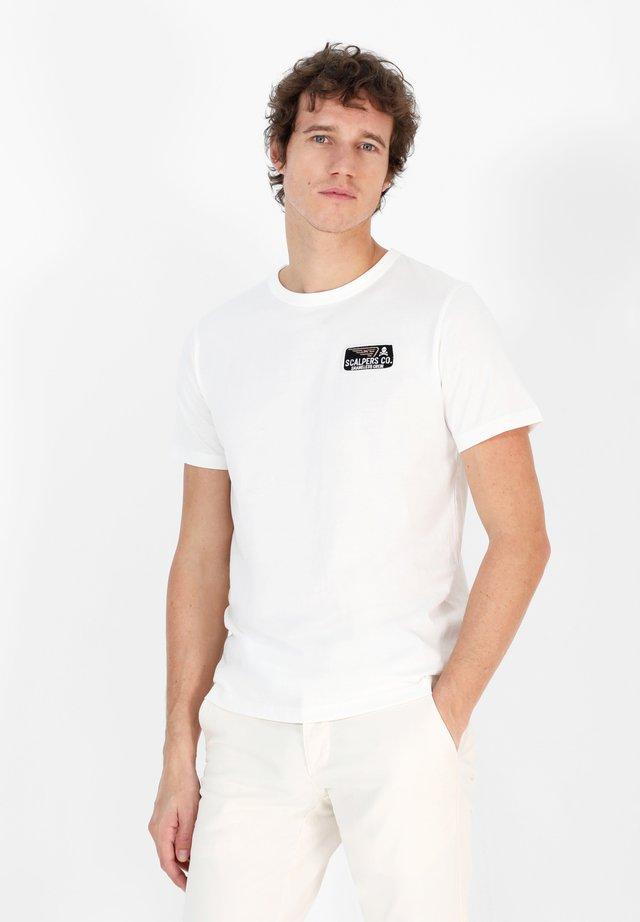 MOTOR  - T-shirt basic - white