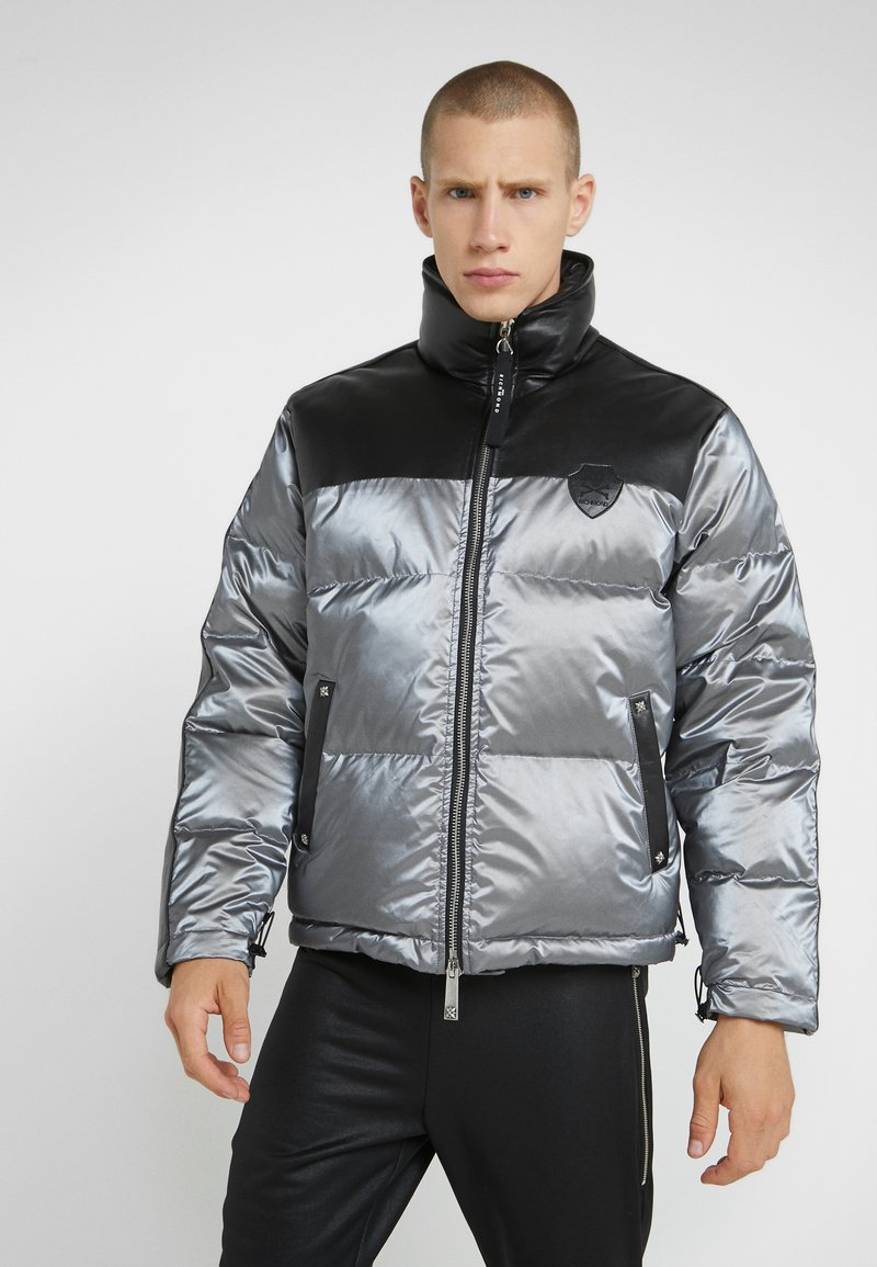 John Richmond - JACKET HAMMOS - Dunjakker - silver/black