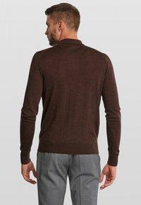 Van Gils - LONGSLEEVE - Polo shirt - dark brown - 2