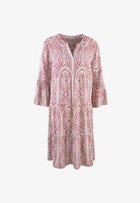 Smith&Soul - Shirt dress - burgundy print - 4