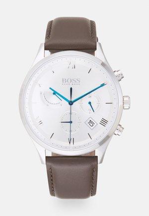GALLANT - Reloj - brown/silver-coloured