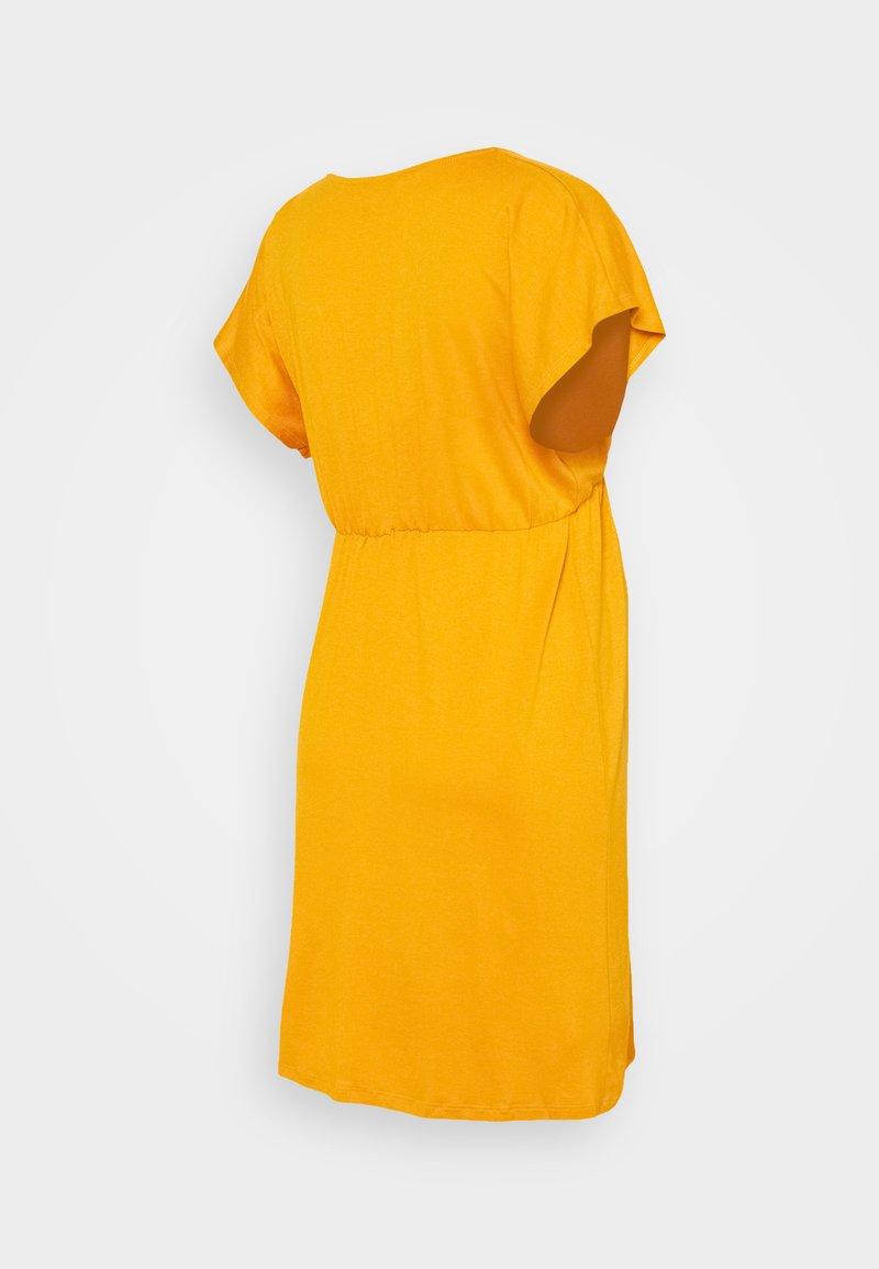EVI MATERNITY DRESS   Jerseykleid   mustard