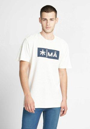 REGGIE - T-shirt print - white