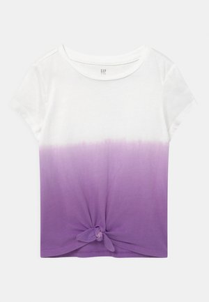 GIRL  - Print T-shirt - grape jelly