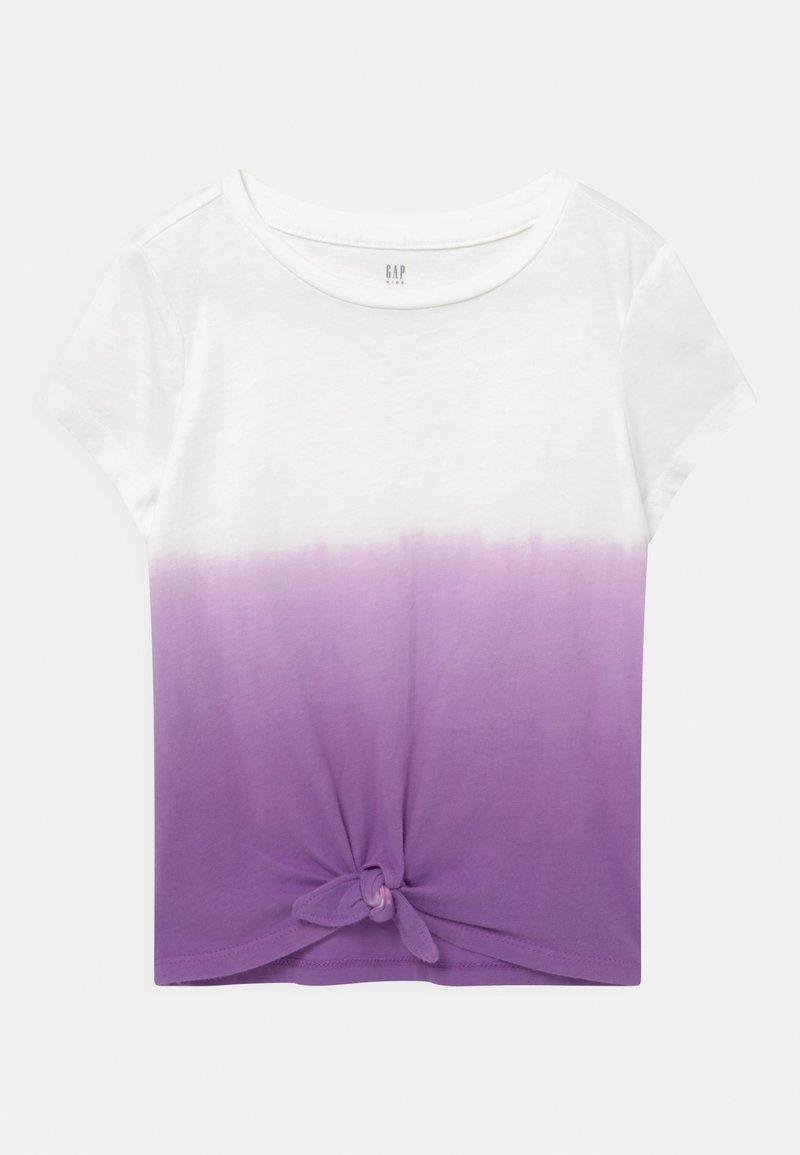 GAP - GIRL  - Triko spotiskem - grape jelly