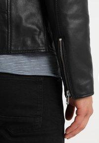 Serge Pariente - ROCKY - Leather jacket - black - 3