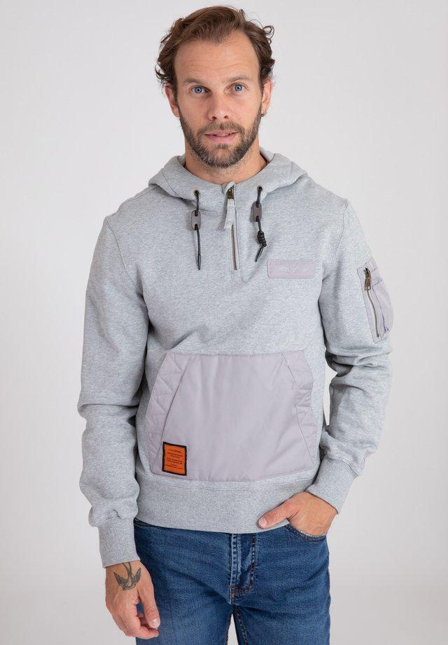 CABLANG - Hoodie - grey