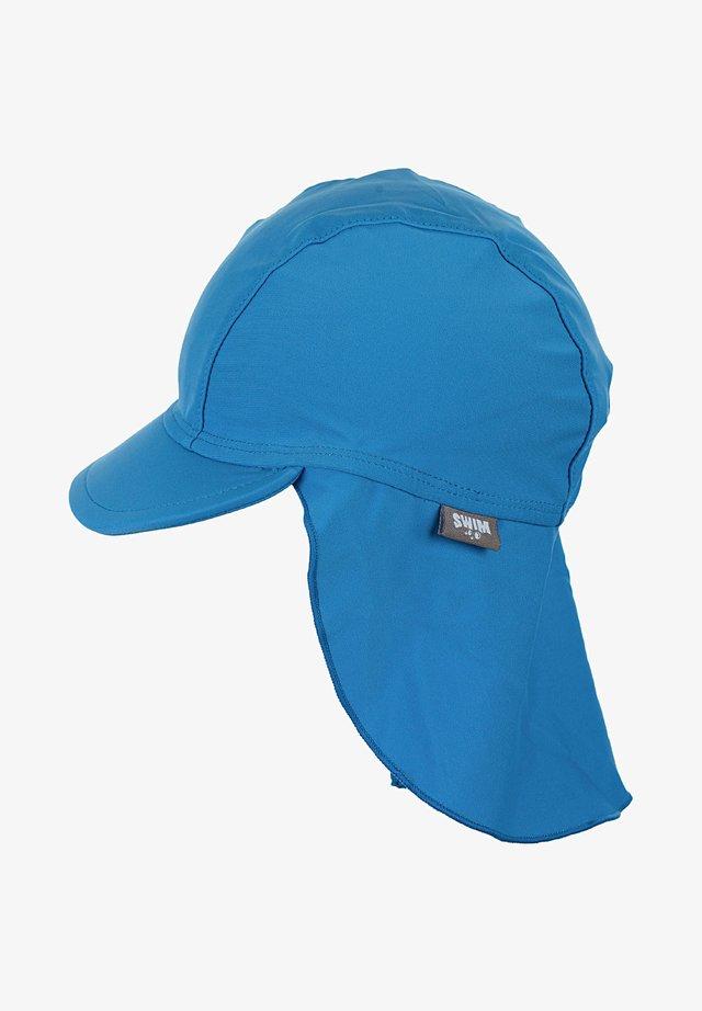 BADEMÜTZE MIT NACKENSCHUTZ - Hat - blue