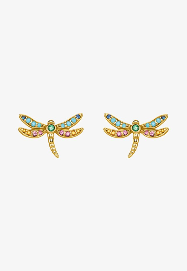 Boucles d'oreilles - multi-coloured