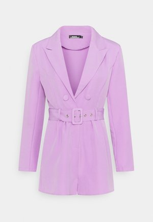 BELTED TUX PLAYSUIT - Overal - lilac