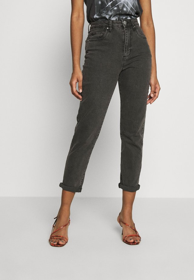 STRETCH MOM - Relaxed fit jeans - superwash black