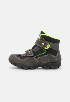 Winter boots - grigio/nero