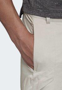 adidas Performance - TERREX HIKERELAX TROUSERS - Trousers - grey - 5