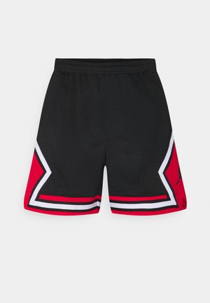 ESSEN DIAMOND  - Shorts - black/university red