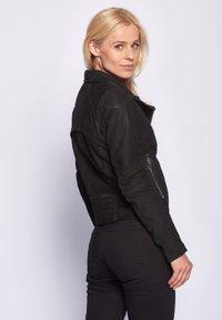 Maze - ROMIE - Leather jacket - black - 3