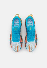 ASICS - NOOSA TRI 13 - Chaussures de running compétition - digital aqua/marigold orange - 3