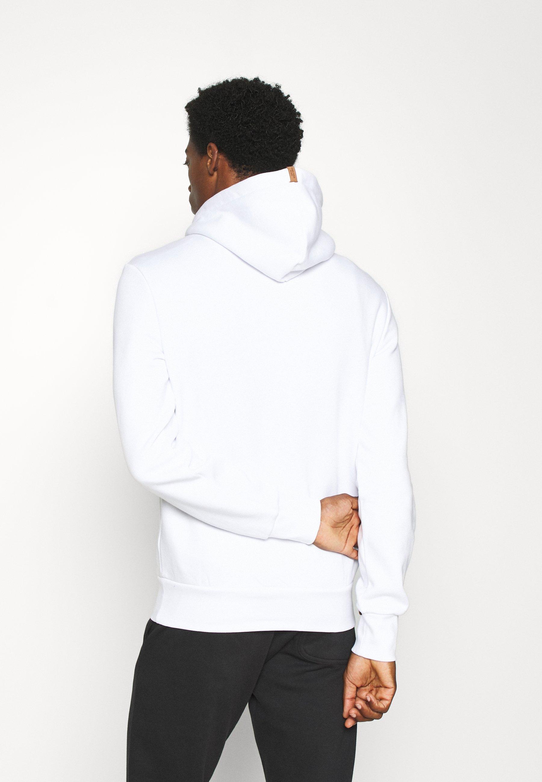 Pier One Kapuzenpullover - white/weiß - Herrenwinterkleidung KjEeK