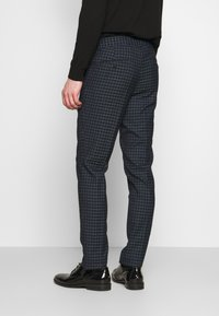 Lindbergh - CHECKED SUIT - Oblek - navy - 5