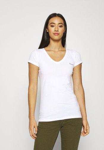 BEA 2 PACK - T-shirts - white