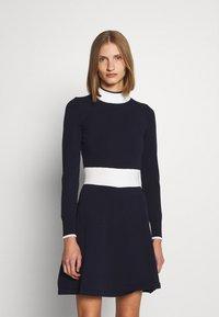 HUGO - SUMERY - Obleka/pulover - navy - 0