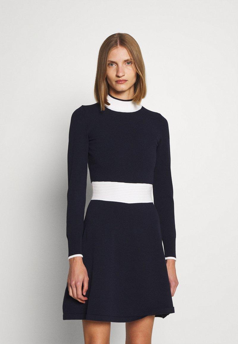 HUGO - SUMERY - Obleka/pulover - navy