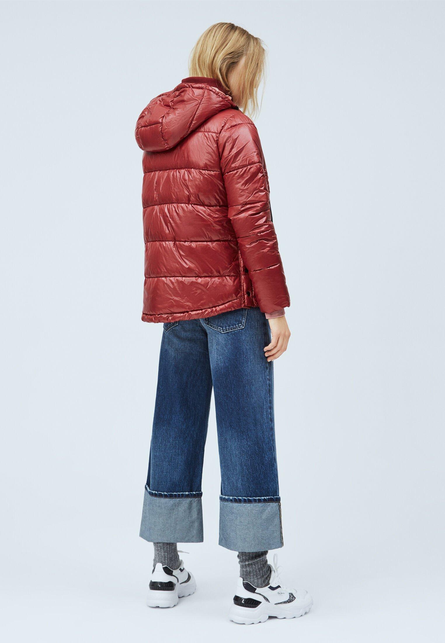 Pepe Jeans CLARA Winterjacke tibetan red/dunkelrot