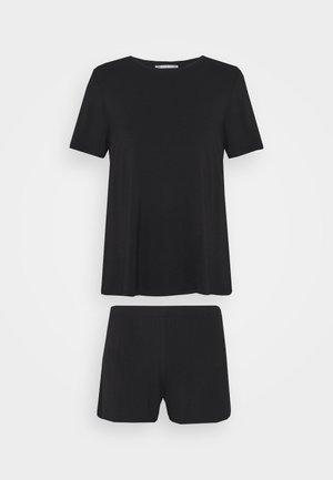 Basic short set - Pyjama set - black